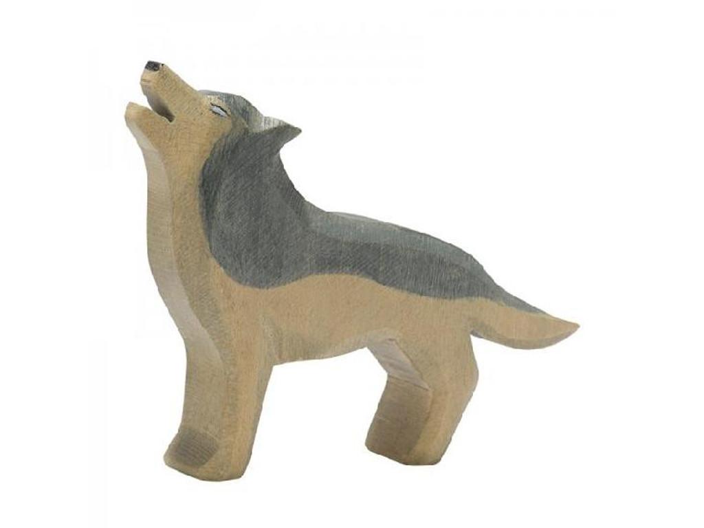 Ostheimer Wooden Wolf Howling (15211)