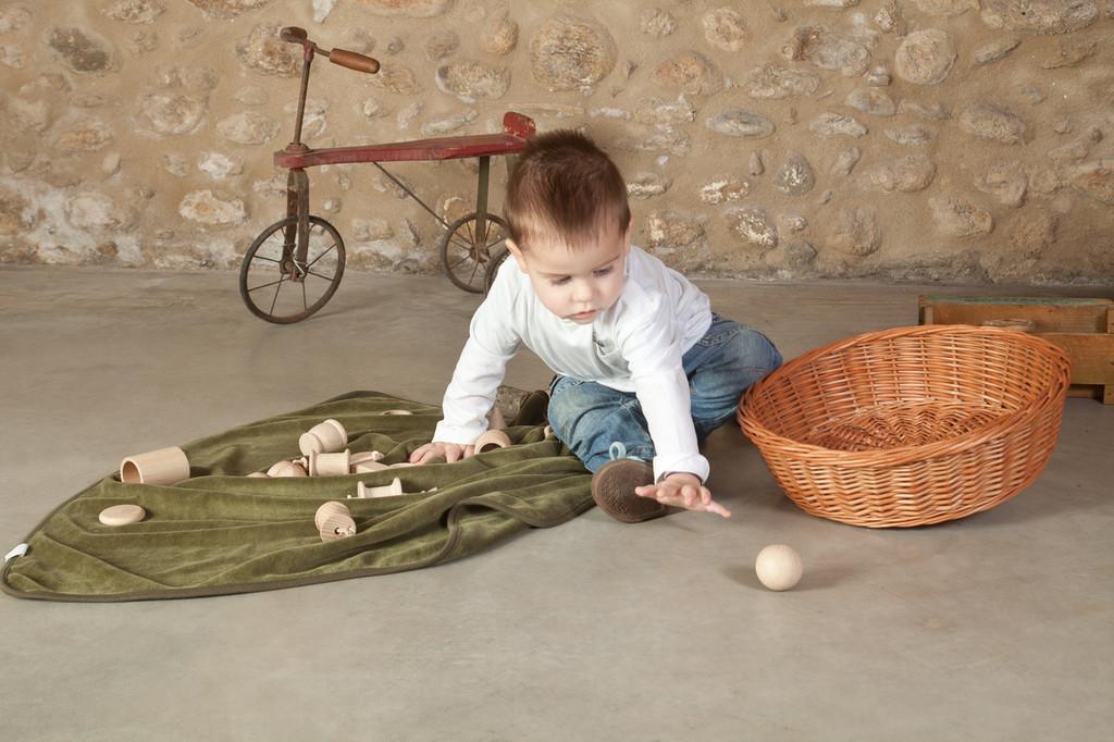 Grapat Wooden Natural Treasure Set with 20 Elements