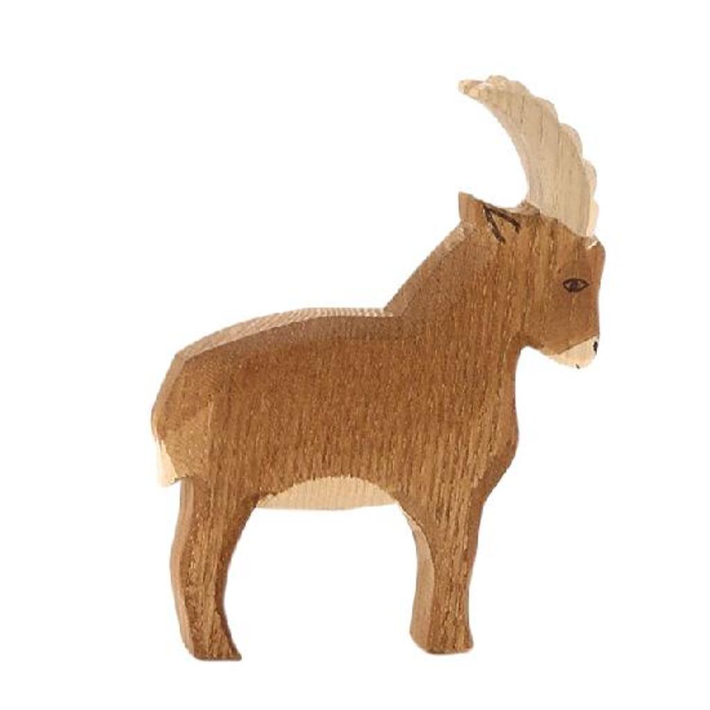 Ostheimer Wooden Mountain Goat Standing (17501)