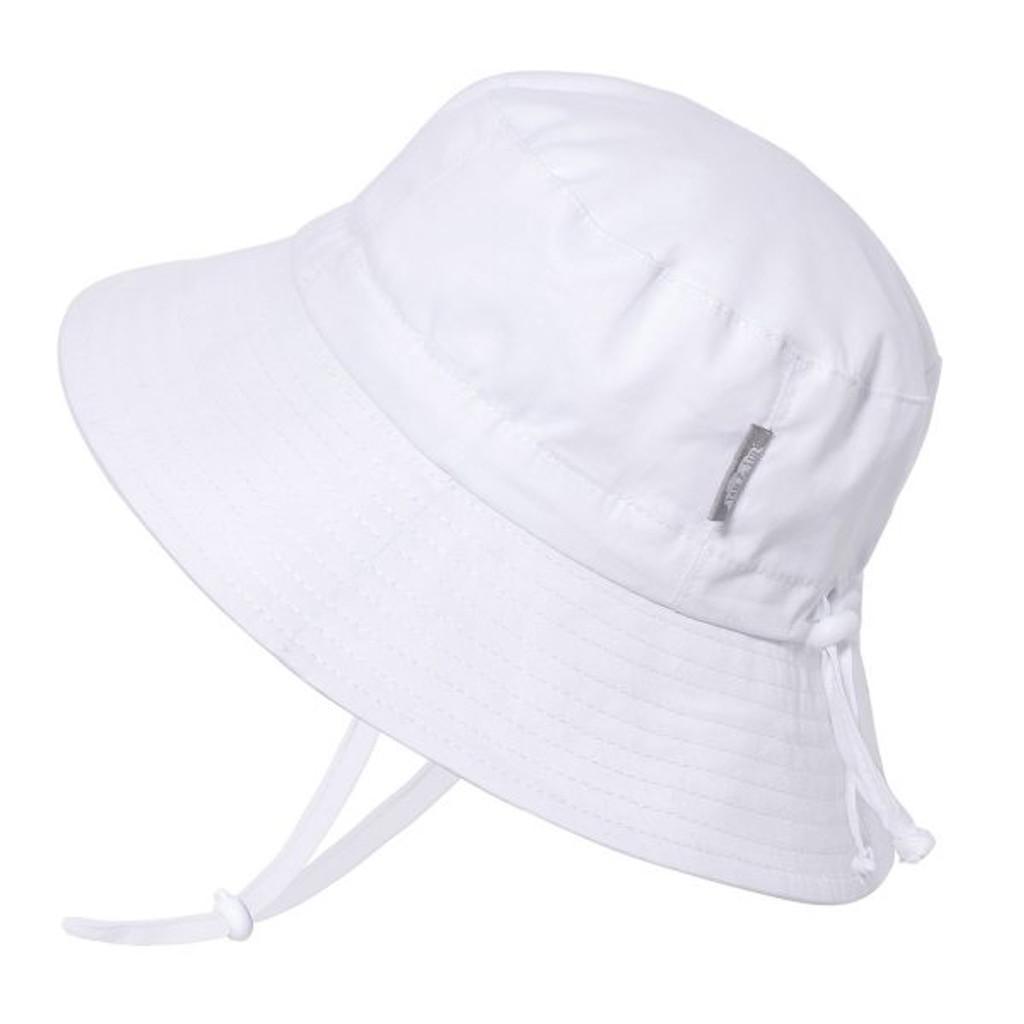 Twinklebelle Bucket Cotton Sun Hat - White
