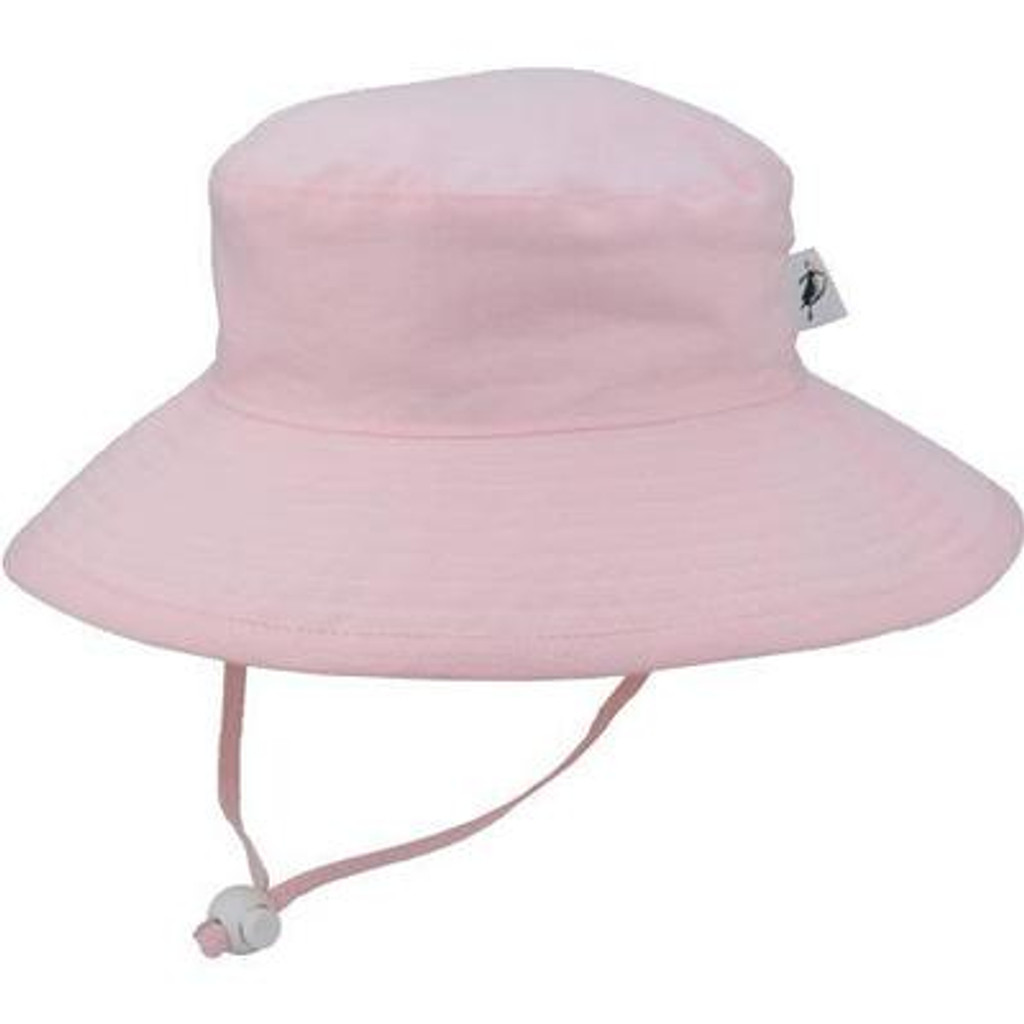 Puffin Gear Cotton Sunbaby Sun Hat - Oxford Pink