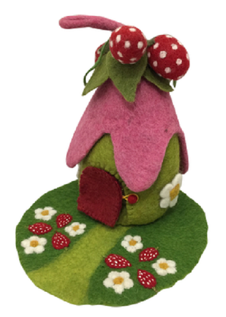 Papoose Strawberry House with Mat (PC253)