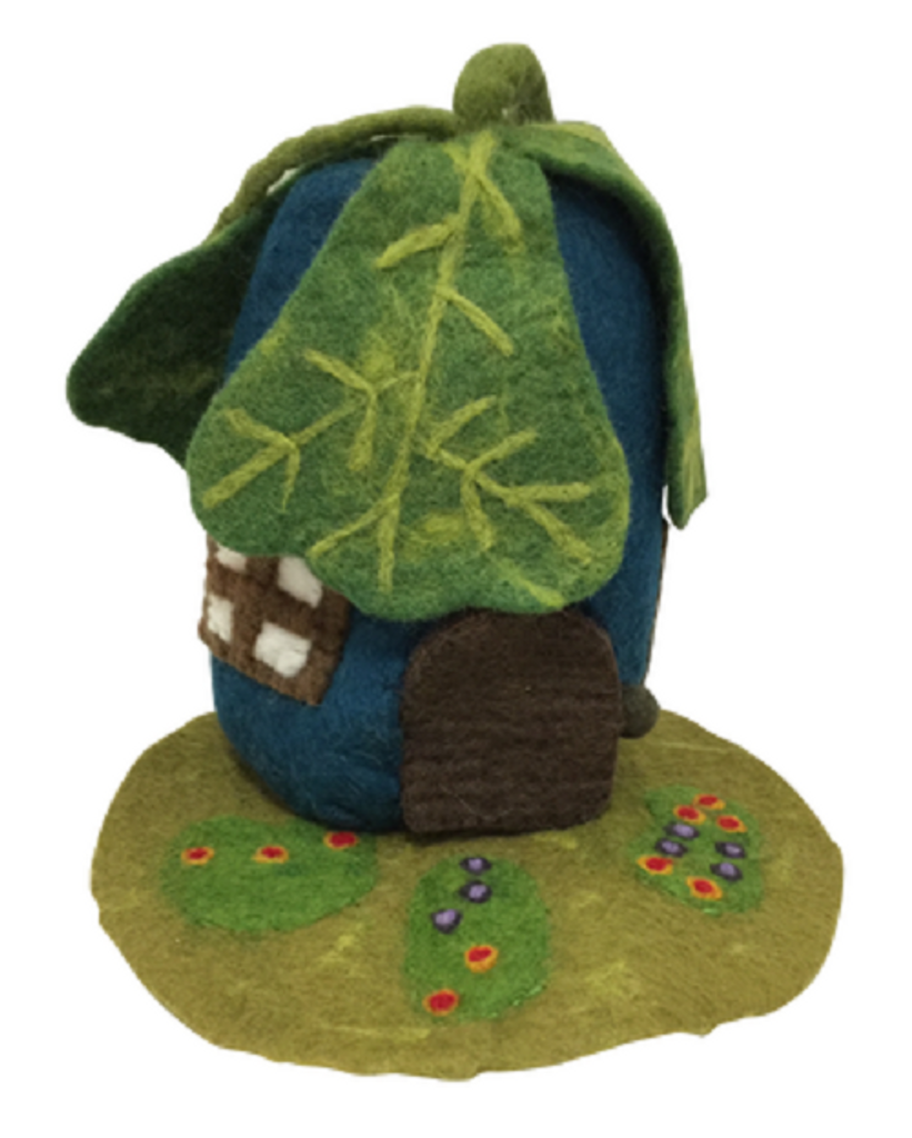 Papoose Oak Leaf House with Mat (PP254)