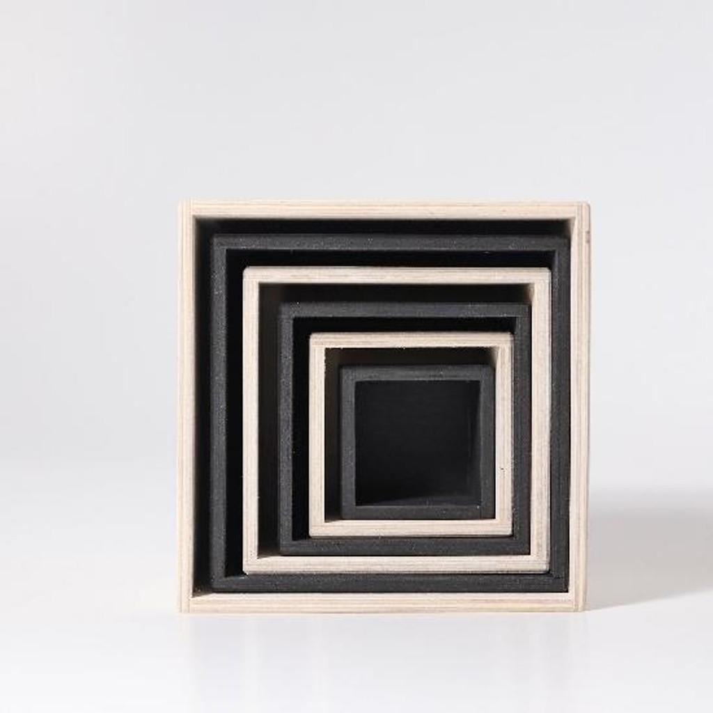 Grimm's Set of Large Boxes - Monochrome (93040)
