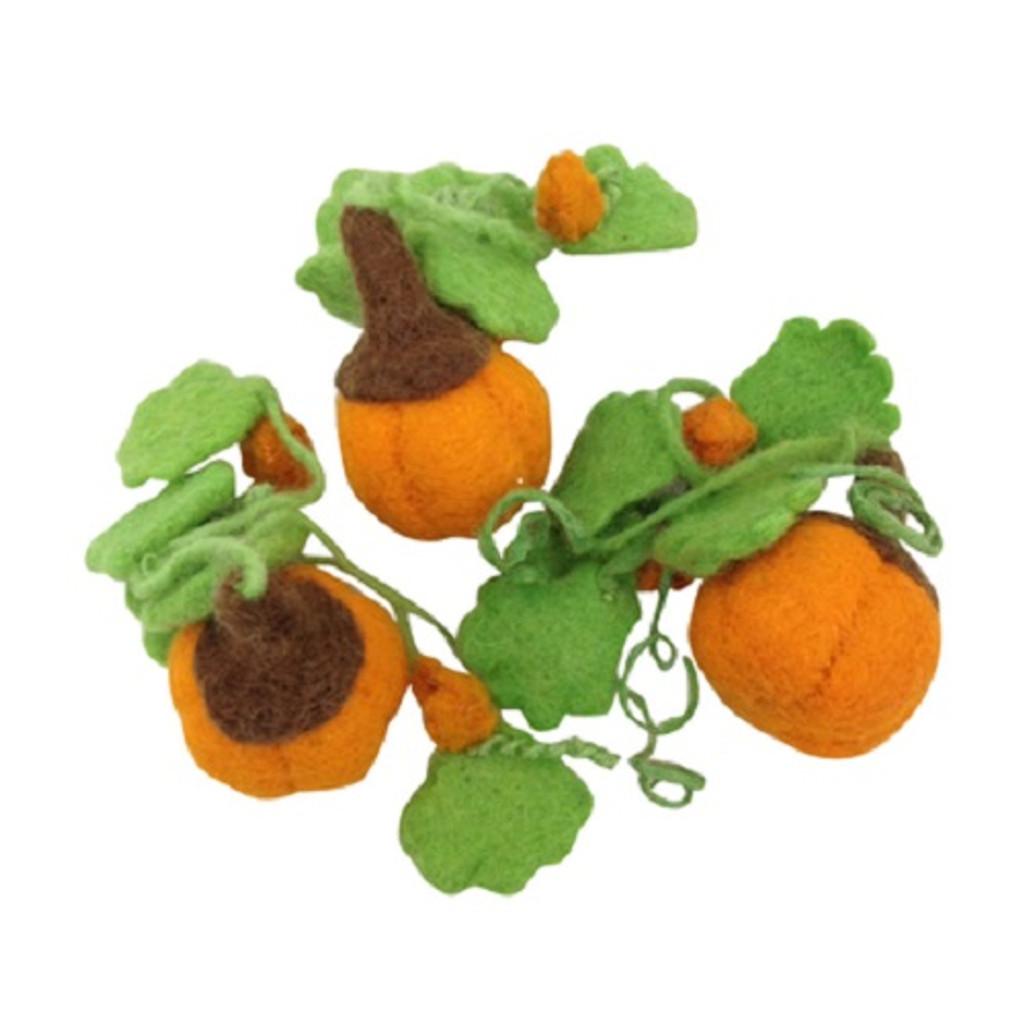 Papoose Mini Pumpkins Set of 3 (PP214)