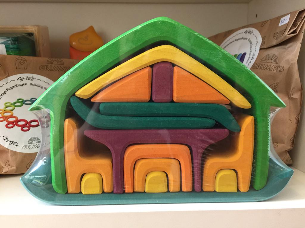 Glueckskaefer All-In-One House - Green