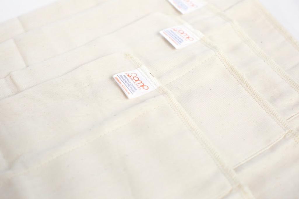 AMP Newborn Organic Cotton Prefolds