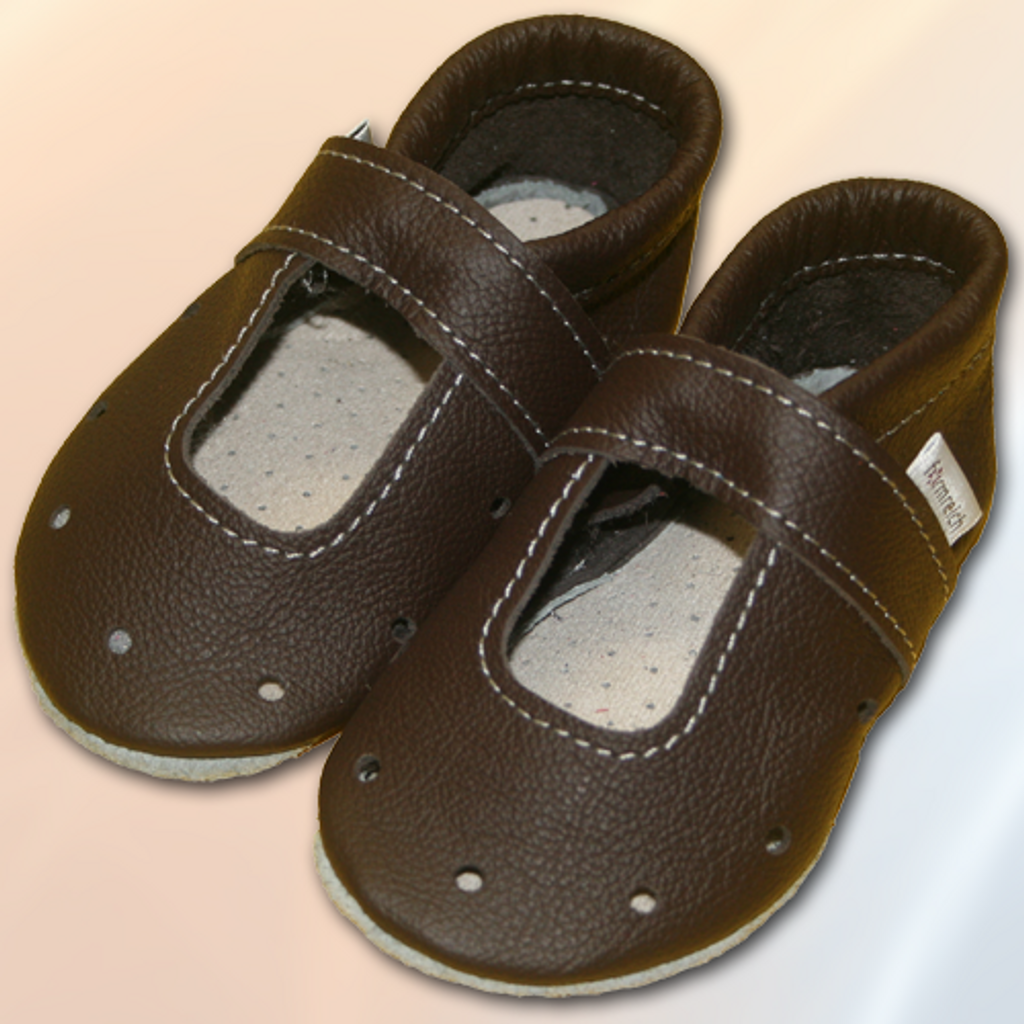 Formreich Soft Sole Shoes - Chocolate Summer Shoe