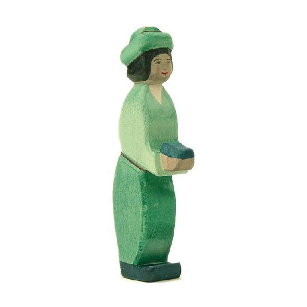 Ostheimer Nativity Figure - King Green Oriental (41703)