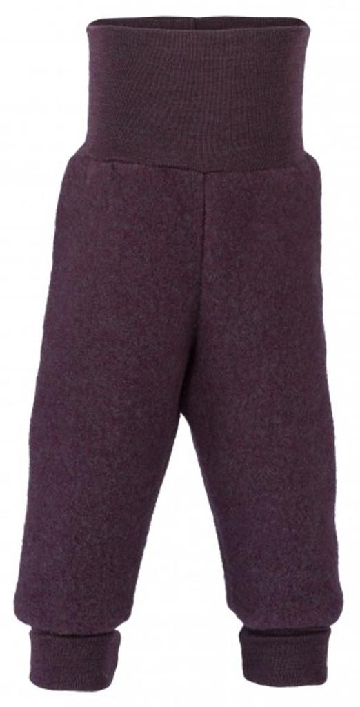 Engel Wool Fleece Baby Pants - Lilac Melange