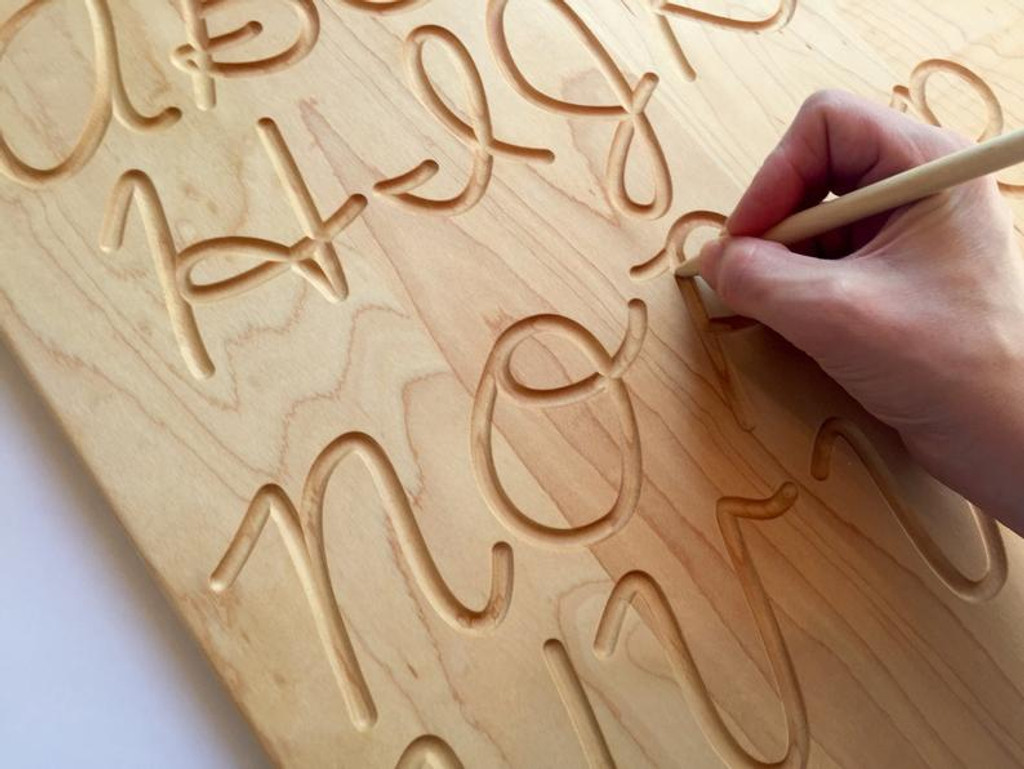 Alphabet Tracing Board