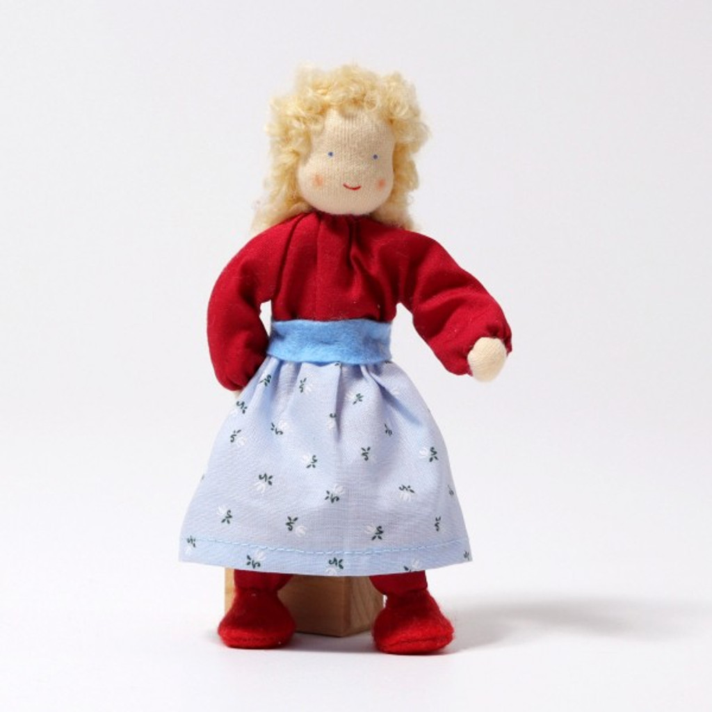 Grimm's Dollhouse Doll - Mother with Blond Hair