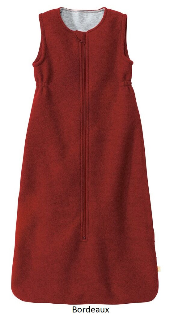 Disana Organic Boiled Wool Sleeping Bag Bordeaux