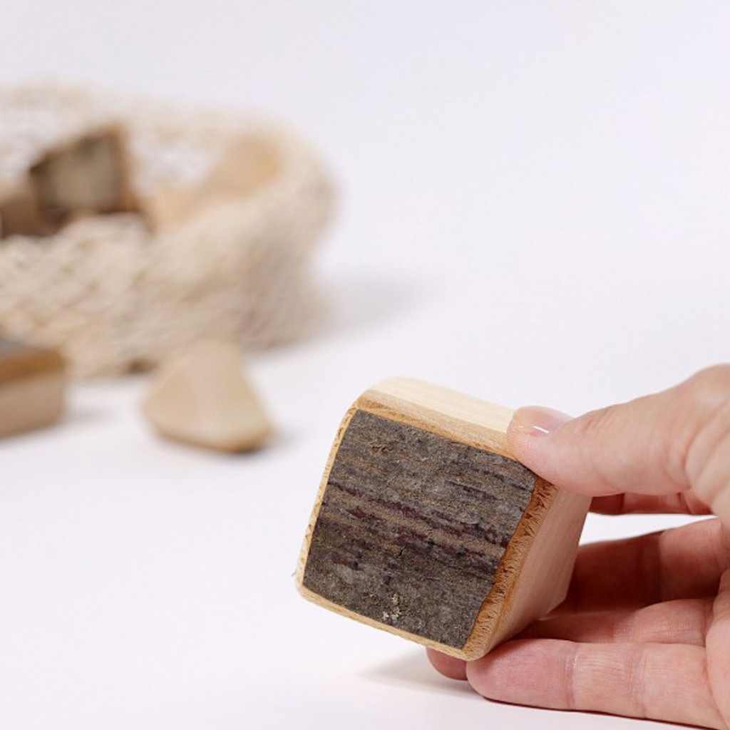 Grimm's Large Building Blocks with Bark