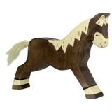 Holztiger Dark Brown Horse