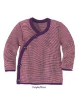 Disana Melange Jacket Plum/Rose
