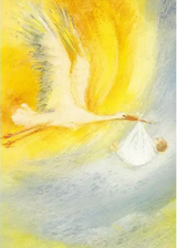 The Stork - Postcard