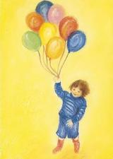 Balloons - Postcard