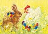 Easter Eggs - Postcard
