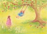 Swinging - Postcard
