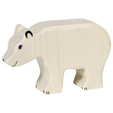 Holztiger Polar Bear Head Down (80207)