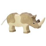Holztiger Rhinoceros