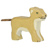 Holztiger Lion Cub