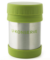 Konserve Insulated Food Jar - Green 12 oz