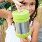 Konserve Insulated Food Jar - Green 12 oz
