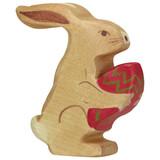 Holztiger Easter Hare - Sitting