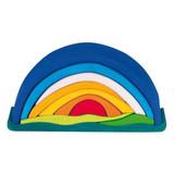 Glueckskaefer Sunrise Puzzle Blue