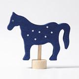 Horse Blue - Grimm's Birthday Ring Decoration