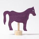 Horse Purple - Grimm's Birthday Ring Decoration