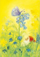 Spring Butterfly - Postcard