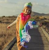 Sarah's Silks Rainbow Cape