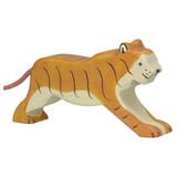 Tiger Running by Holztiger
