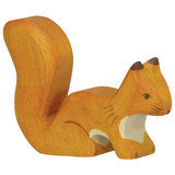 Holztiger Orange Squirrel