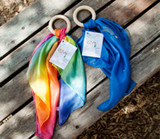 Sarah's Silks Rainbow Teether