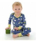 Silkberry Bamboo Pajama - 2 Piece Set - Galaxy