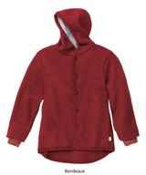 Disana Boiled Wool Jacket Bordeaux