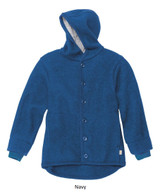 Disana Boiled Wool Jacket Navy