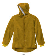 Disana Boiled Wool Jacket Gold