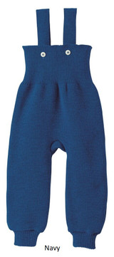 Disana Knitted Trousers Navy