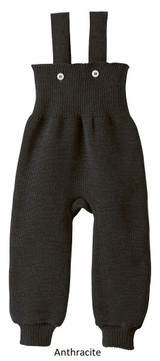 Disana Knitted Trousers Anthracite