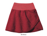 Disana Boiled Wool Skirt Bordeaux