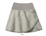 Disana Boiled Wool Skirt Grey