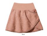 Disana Boiled Wool Skirt Rose