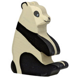 Sitting Panda Bear by Holztiger