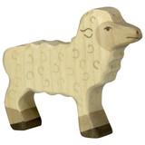 Holztiger White Lamb Standing