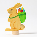 Rabbit with Basket - Grimm's Birthday Ring Decoration